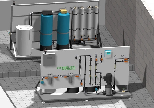 Vue 3D d'un osmoseur Corelec