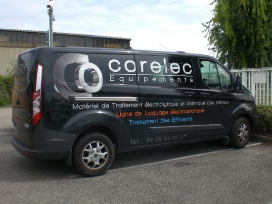 Vehicule de service Corelec